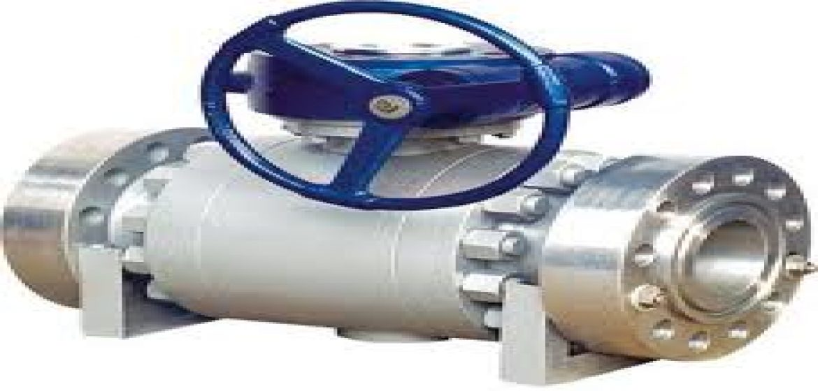 BALL VALVE A216 WCB CARBON STEEL DAN STAINLESS STEEL